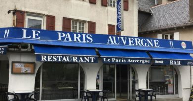 RESTAURANT LE PARIS AUVERGNE