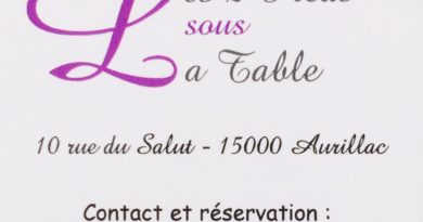 LES DEUX PIEDS SOUS LA TABLE
